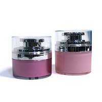 airless cosmetic foundation jars