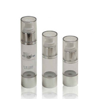 Cosmetic Empty Bottles with Clear Mid